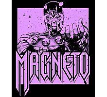 Magneto - Purple Photographic Print