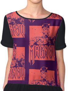 Magneto - Red Chiffon Top