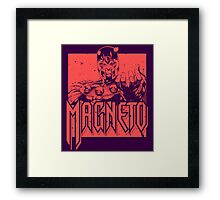 Magneto - Red Framed Print