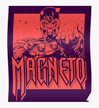 Magneto - Red Poster