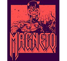 Magneto - Red Photographic Print