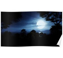 3D Landscape : Lost Islands - Moonshine Poster