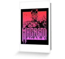Magneto - Multi Color Greeting Card