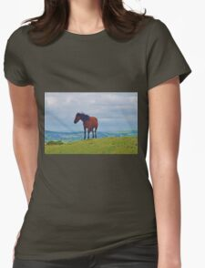 Dartmoor Pony  Womens Fitted T-Shirt
