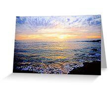 A Lacy Shoreline - OSullivan Beach Greeting Card