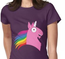Silly Beasty : En rose, c'est mieux Womens Fitted T-Shirt