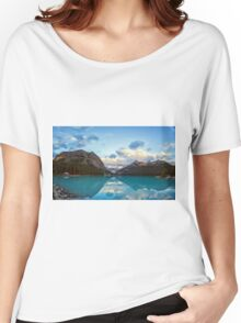 Lake Louise Banff Alberta Women's Relaxed Fit T-Shirt