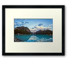 Lake Louise Banff Alberta Framed Print