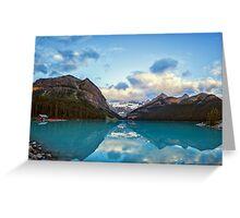 Lake Louise Banff Alberta Greeting Card