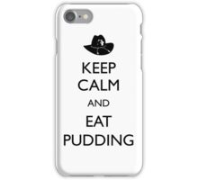 Walking Dead - Keep Calm and Eat Pudding Carl iPhone Case/Skin