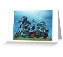 All Terrain Tactical Mech Greeting Card