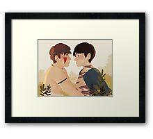 Mononoke Taekook Framed Print