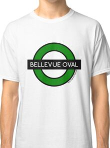 Bellevue Oval Tube Station (for white shirts) Classic T-Shirt