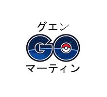 Cool Pokemon GO Japanese Text Photographic Print