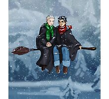 Drarry - Snow Escape Photographic Print