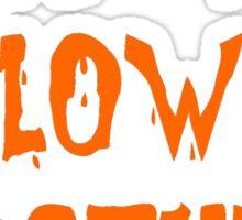 cheap ass halloween costume Sticker
