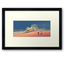Dune walker Framed Print