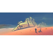 Dune walker Photographic Print