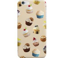 Cupcake royale in pink iPhone Case/Skin