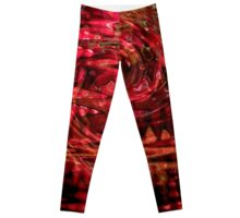 Candy Apple Wave Leggings