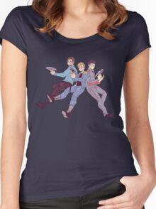 Star Trek - Triumvirate Women's Fitted Scoop T-Shirt