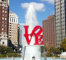 Love statue Sticker