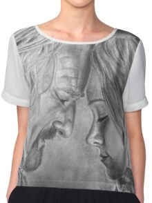 Tolkien: I know your face Chiffon Top