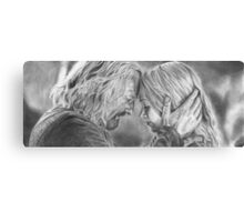 Tolkien: I know your face Canvas Print