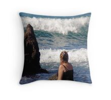 Spritual Moments Throw Pillow