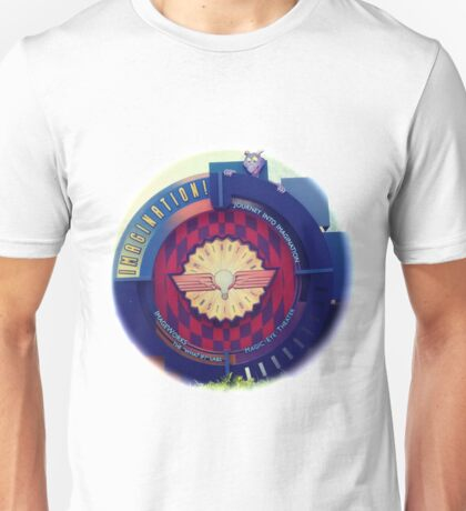 Journey Into Imagination Sign from EPCOT at Walt Disney World Unisex T-Shirt