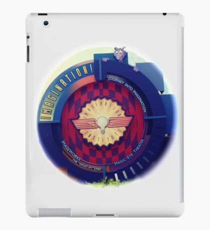 Journey Into Imagination Sign from EPCOT at Walt Disney World iPad Case/Skin
