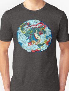 Tokyo Asakusa Dragon in Color Unisex T-Shirt