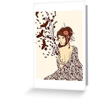 Come to life Greeting Card