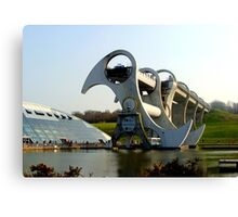 Falkirk Wheel. Canvas Print
