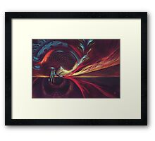 Surreal Reality Framed Print