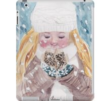 Loving Winter iPad Case/Skin