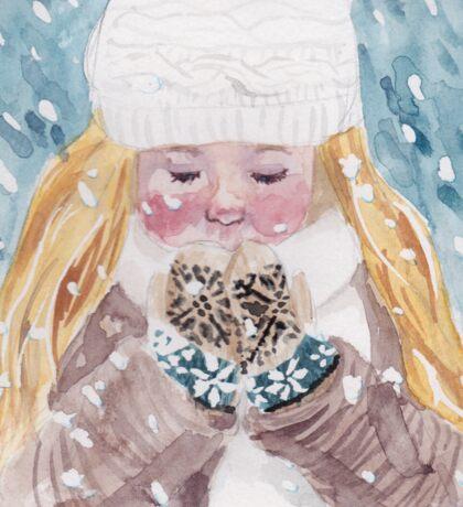 Loving Winter Sticker