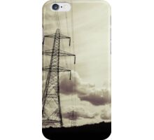Pylons iPhone Case/Skin