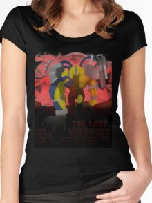 The Last Warrior From Another Planet - Yu-Gi-Oh! Women's Fitted Scoop T-Shirt