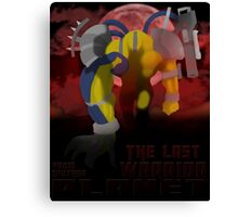 The Last Warrior From Another Planet - Yu-Gi-Oh! Canvas Print