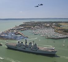 HMS Illustrious final return by ChrisBalcombe