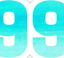 1998 Watercolor Sticker