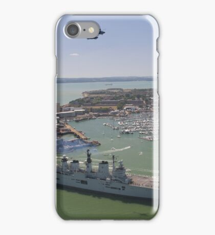 HMS Illustrious final return iPhone Case/Skin