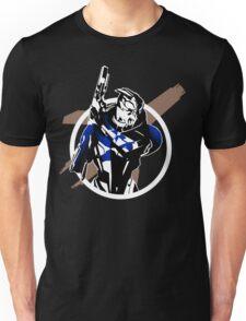 Garrus and Cruiser Unisex T-Shirt