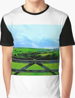 Cudoe:Cornish Countryside Graphic T-Shirt