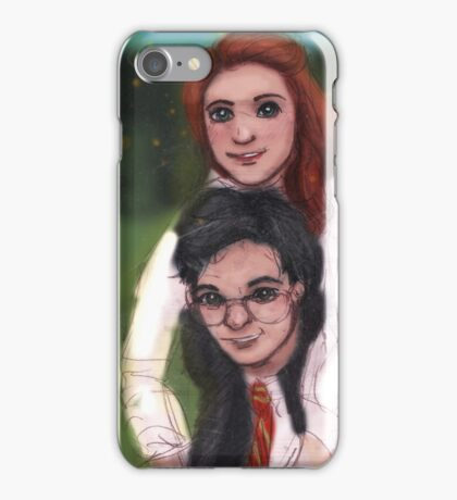 James and Lily 1980 iPhone Case/Skin