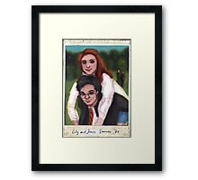 James and Lily 1980 Framed Print