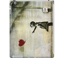 Banksy's Girl with a Red Balloon iPad Case/Skin