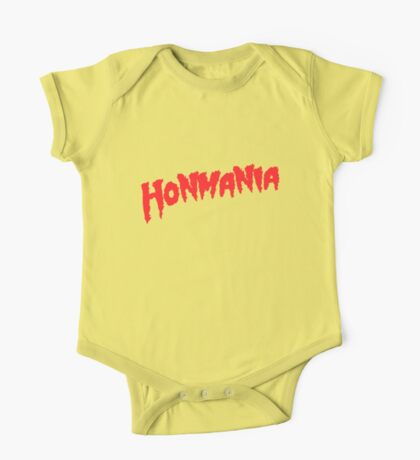 HonMania Classic Red One Piece - Short Sleeve
