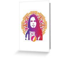 Grateful Dead - Bob Weir Greeting Card